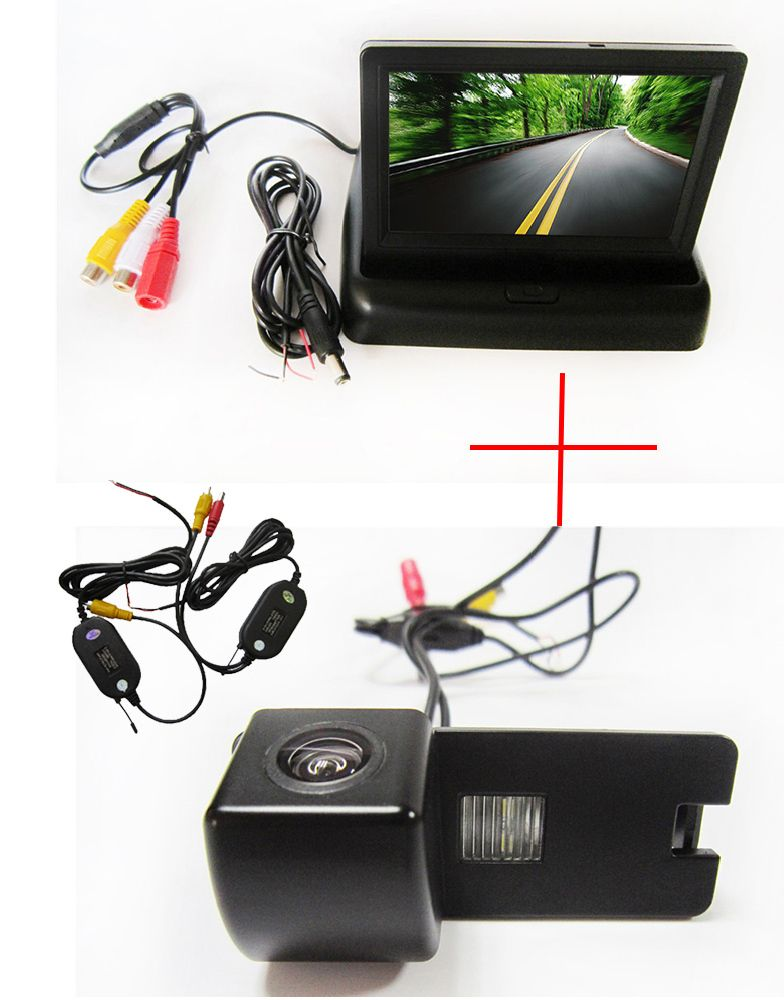 Wireless Color Car Rear View Camera For Holden Commodore Holden Commodore Vy Vz Ve1 With 4 3inch Foldable Lcd Tft M Rear View Camera Holden Commodore Commodore