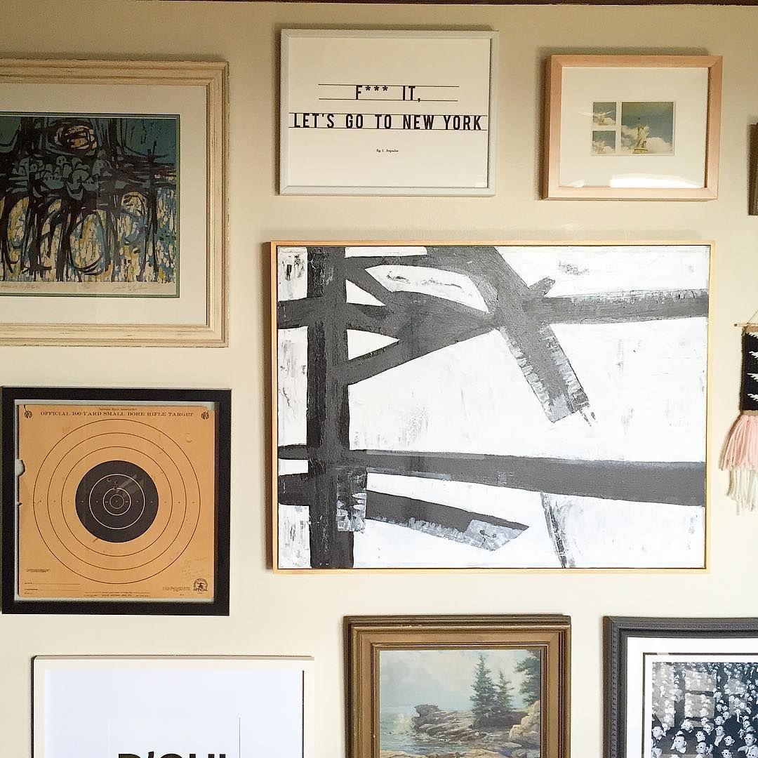 old world gallery wall from @pickloveenjoy #framebridge #gallerywall ...