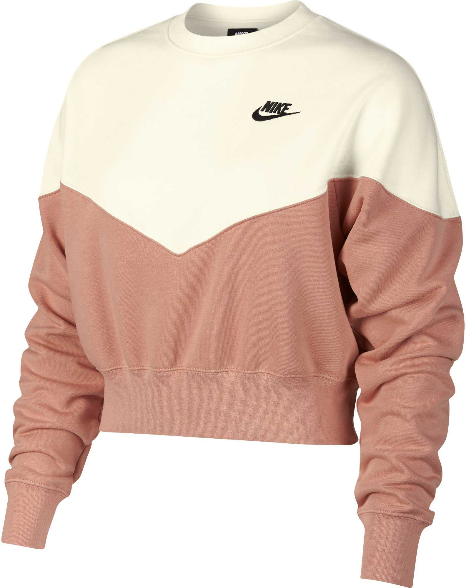 Nike Women's Sportswear Heritage Crew Pullover | DICK'S Sporting GoodsProposition 65 warning iconProposition 65 warning icon