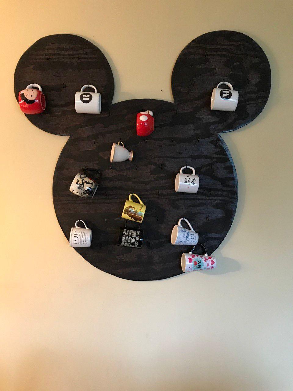 Mickey Mouse coffee mug holder
