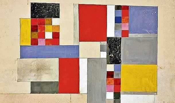 Sophietaeuber Arp Le Destin D Une Pionniere En Trois Cents œuvres Epoque Geometrique Musee D Art Moderne Abstrait