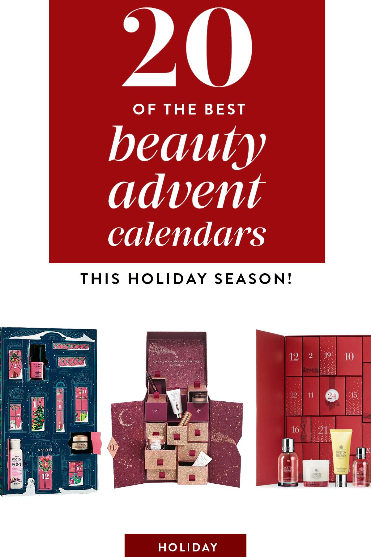 2018's Best Beauty Advent Calendars Get Glam for the