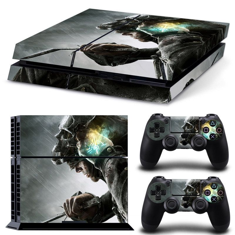 Ps4 Skin Dishonored Decal 2x Controller Skins