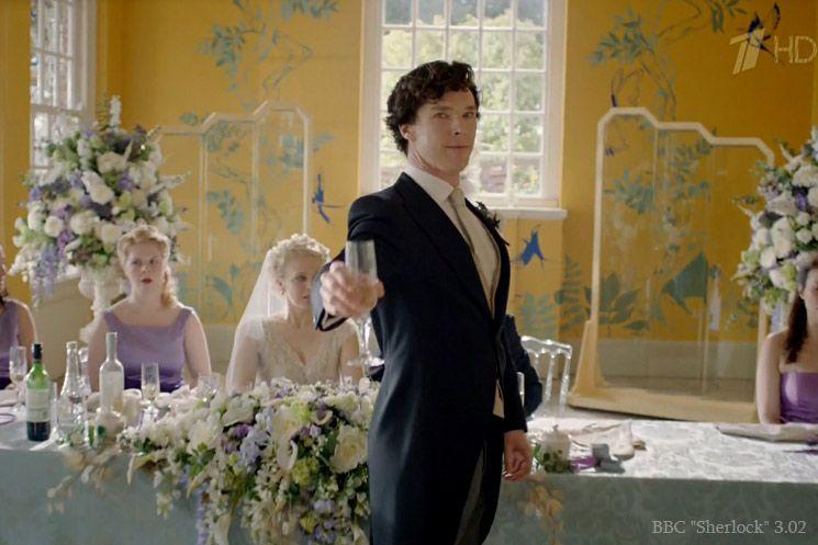 Поздравление шерлока на свадьбе у ватсона владимировна