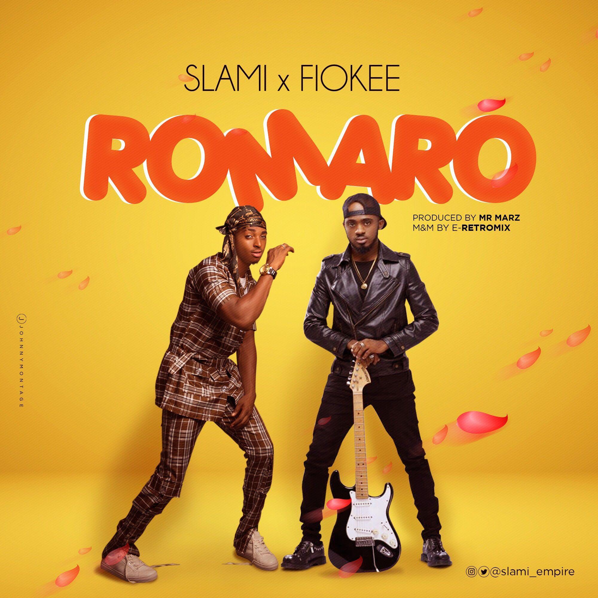 Slami Romaro Ft Fiokee (Audio Download Mixtape cover
