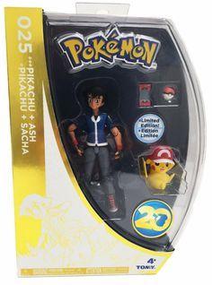 Pokemon Tomy San Diego Comic Con 2016 Exclusive Pikachu and Ash 025 New