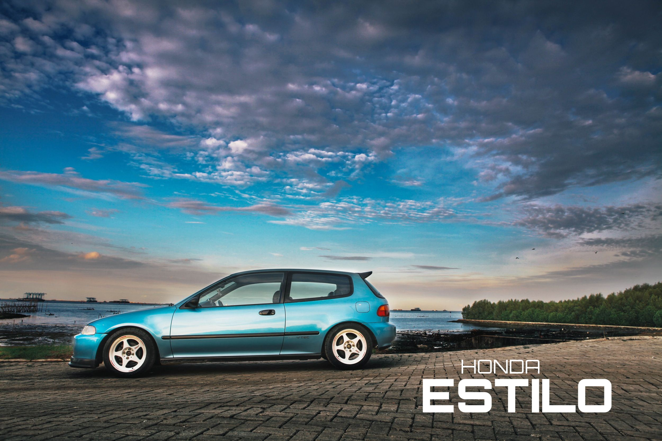 honda estilo eg6 vehicles honda honda civic honda civic hatchback rh pinterest com