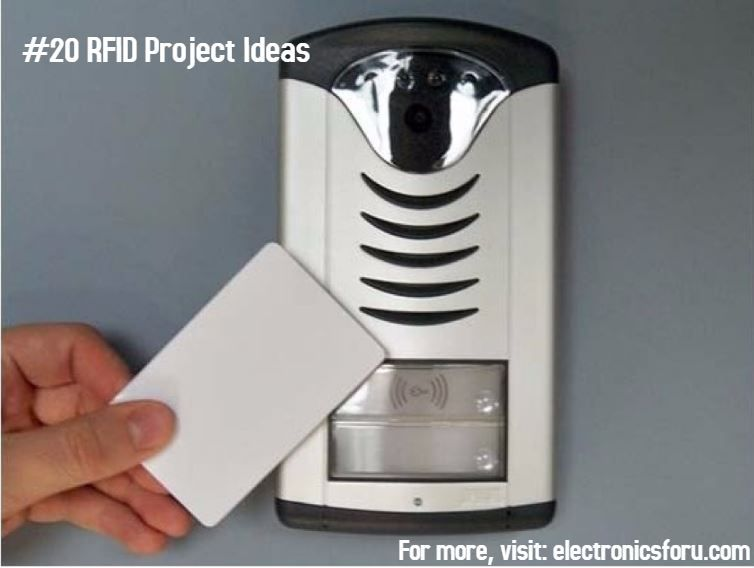 Rfid is commonly used in access systems how about you build an electronics projects solutioingenieria Gallery