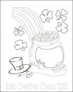 Leprechaun Coloring Sheets for Saint Patrick's Day: Free