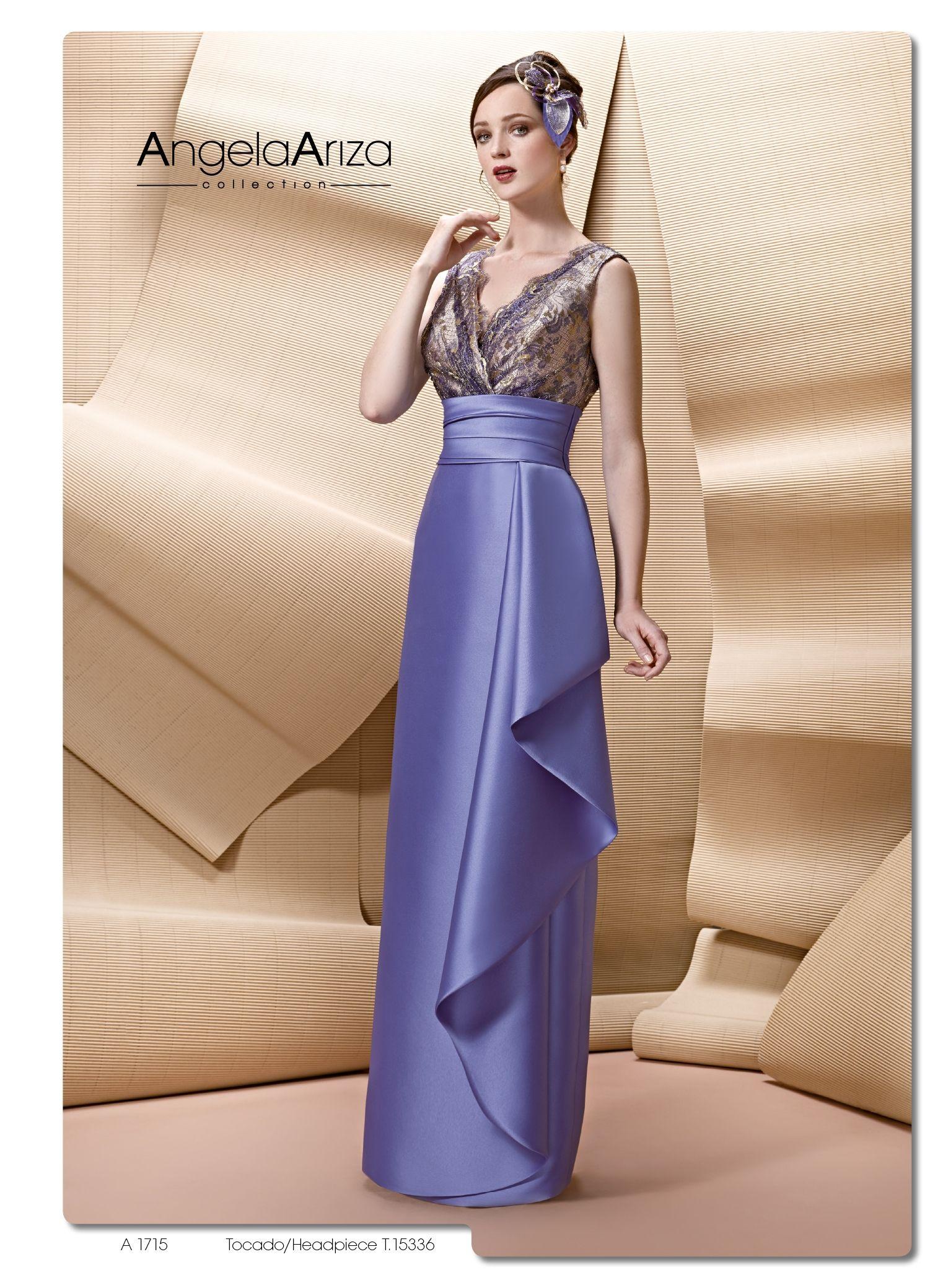 A1715 - Vestido de Madrina - Ángela Ariza | vestidos mama de la ...