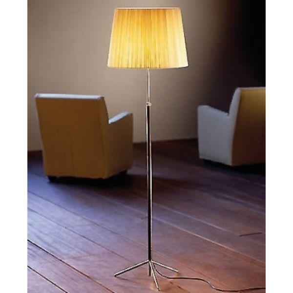 Brass Floor Lamp Office