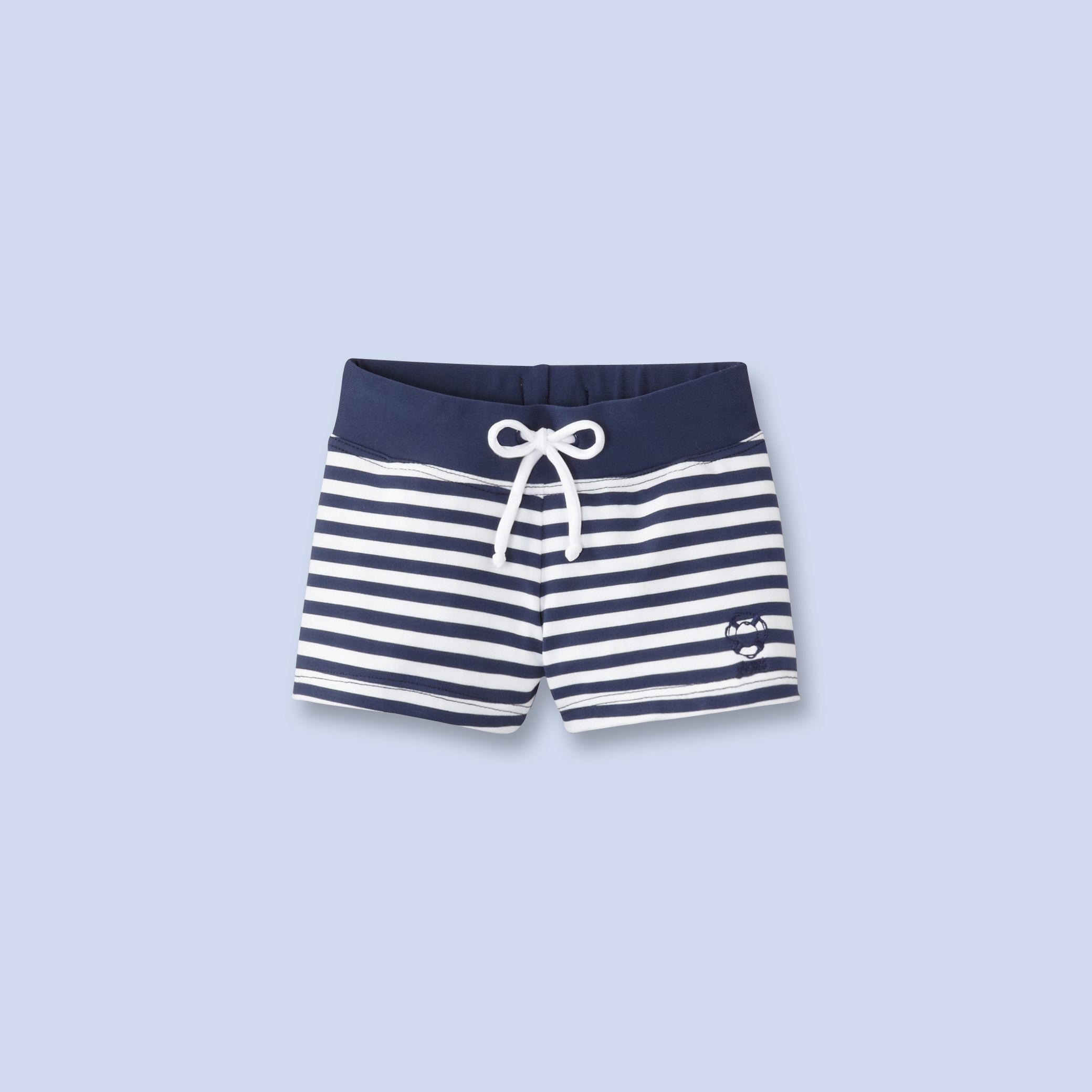 Navy striped swimsuit for baby boy Swimwear Pinterest