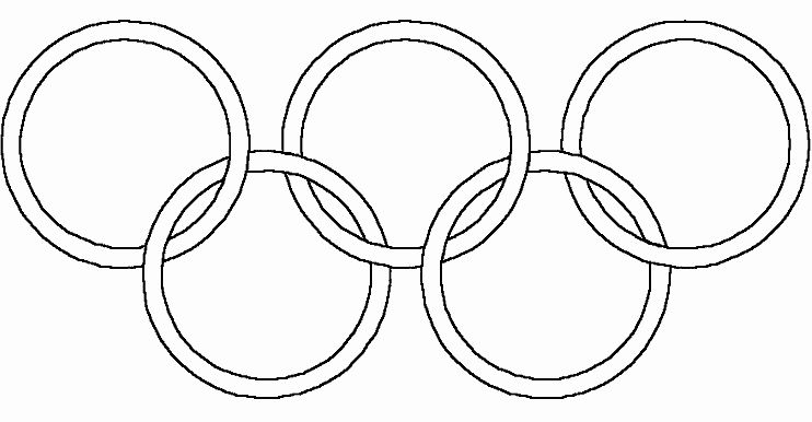 32 Olympic Rings Coloring Page In 2020 Olympic Rings Olympic