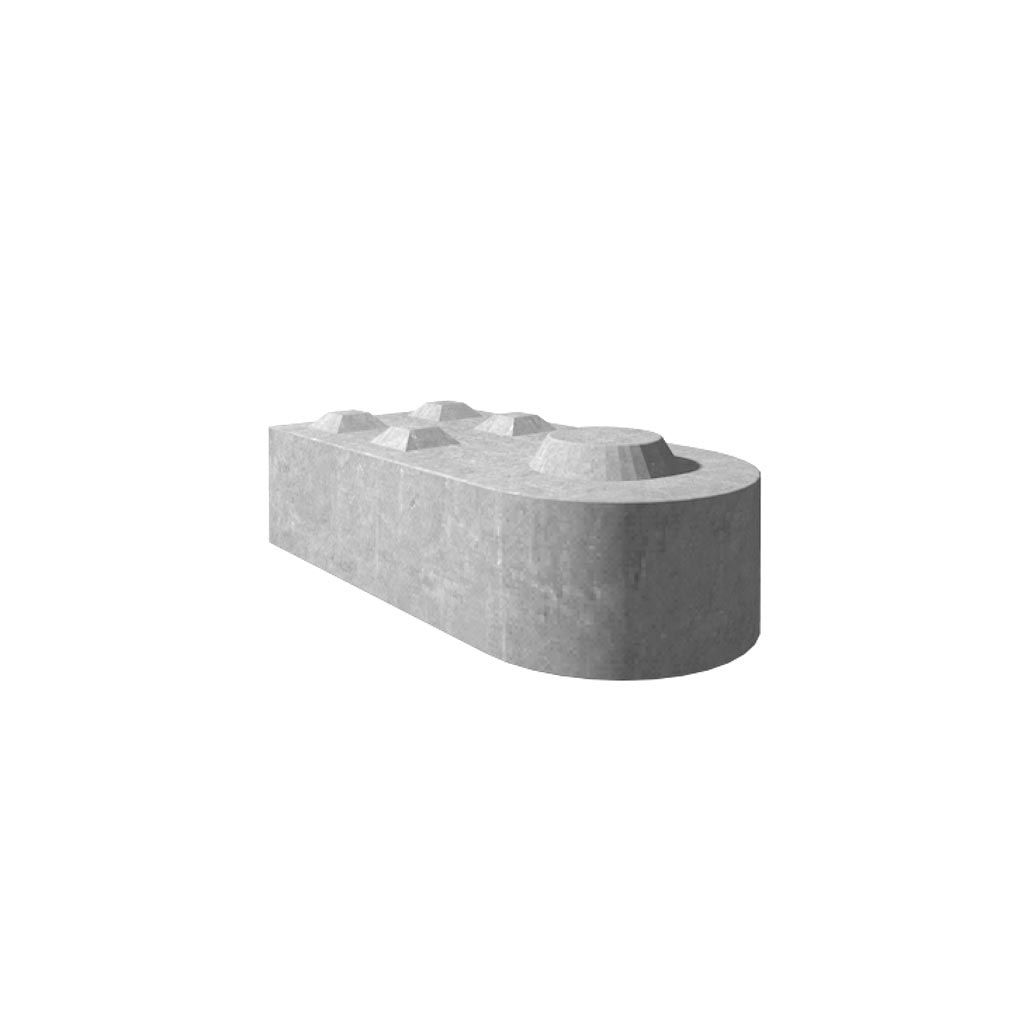 Concrete Round Curved Block For Lego Like Retaining Wall Retaining Wall Concrete Lego