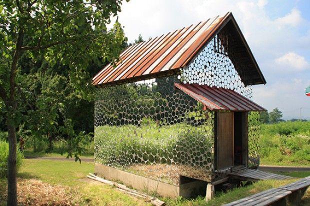Un petit habitat qui reflète la nature Japon