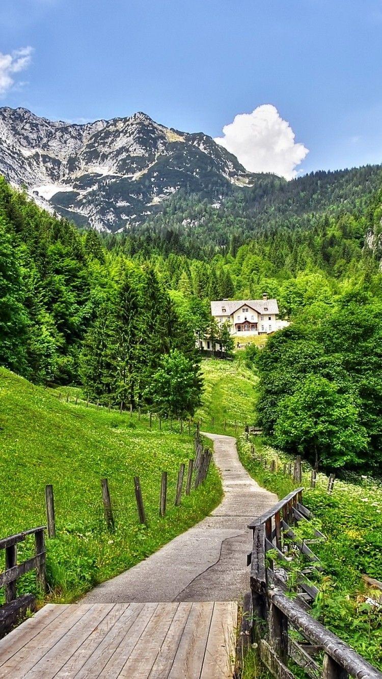 Mountain Village Road Path