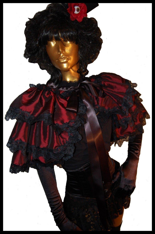 EYES WIDE SHUT Burlesque Steampunk Tie On by lovechildboudoir ...