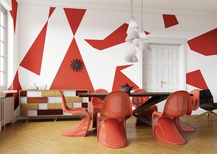 Peinture Decorative Dessin Geometrique Sublimez Les Murs Deco