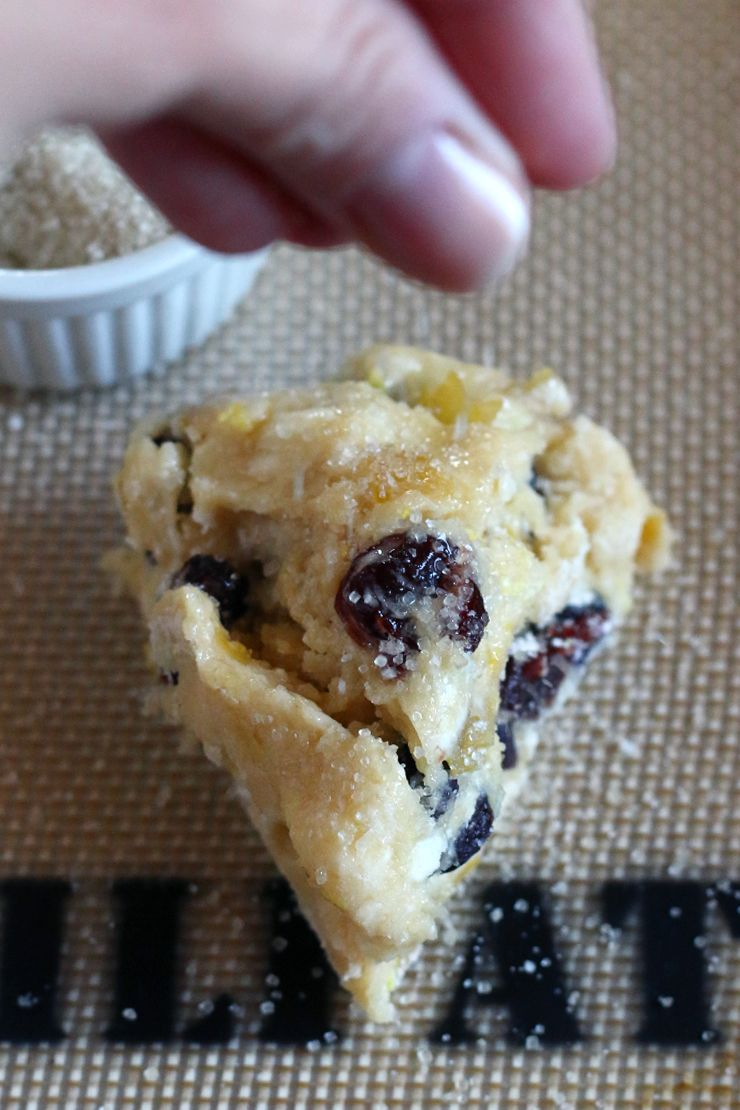 Sour Lemon Cherry Scones With Sour Cream Recipe Baking The Goods Recipe Sour Cream Recipes Recipes Scones
