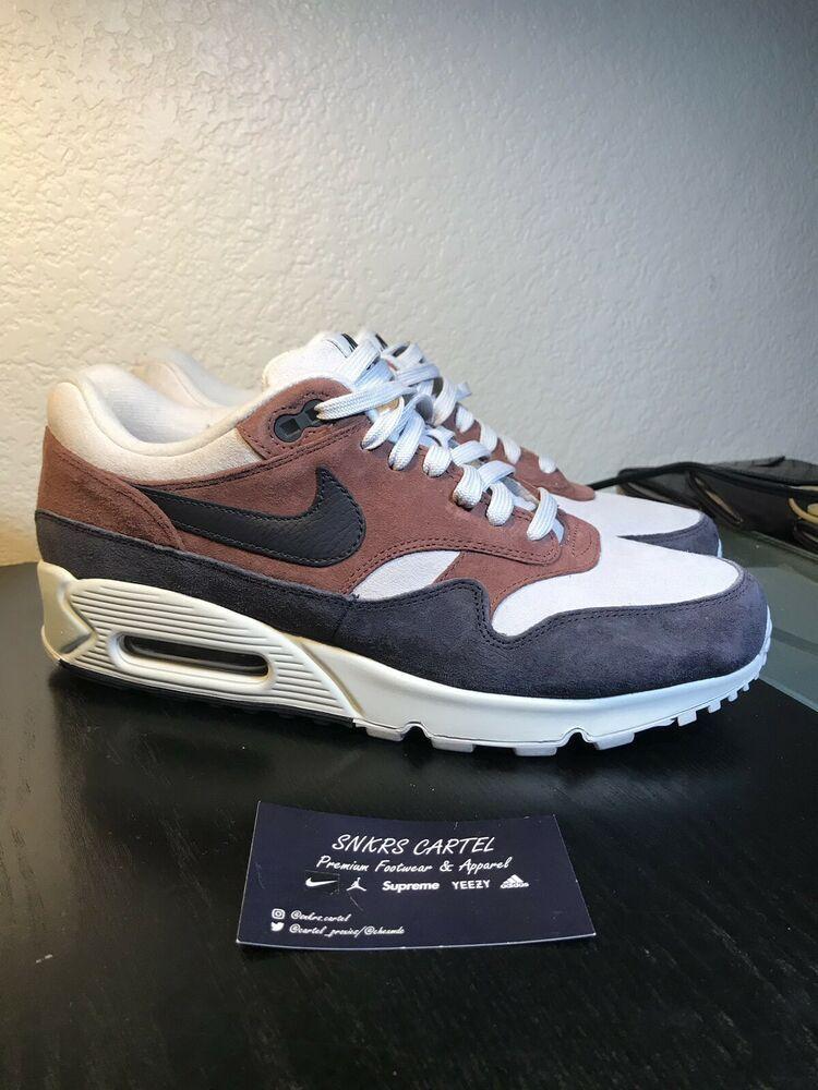 pretty nice c7c78 b2564 Womens Air Max 90 1 Red Sepia Size 10.5 US AQ1273-200 - Nike Airs