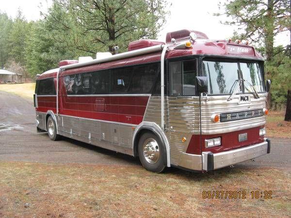 1964 Mci Bus Conversion Schoolie Pinterest Bus