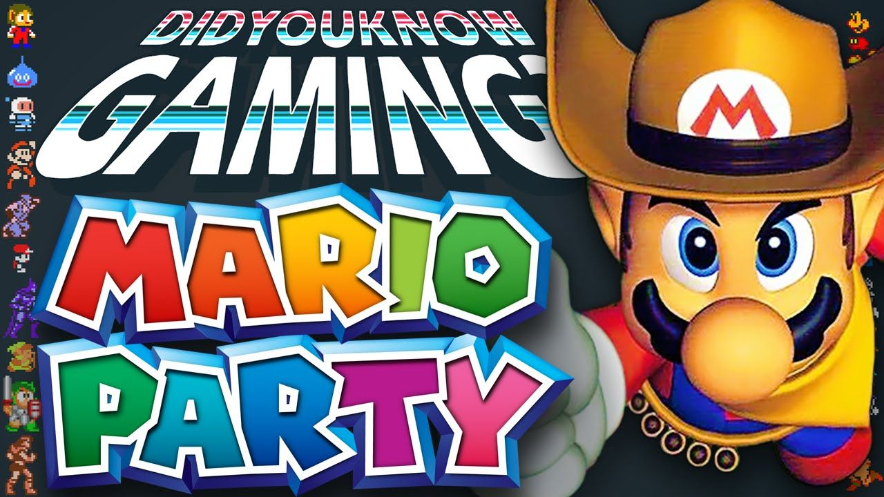 Mario party did you know gaming feat brutalmoose