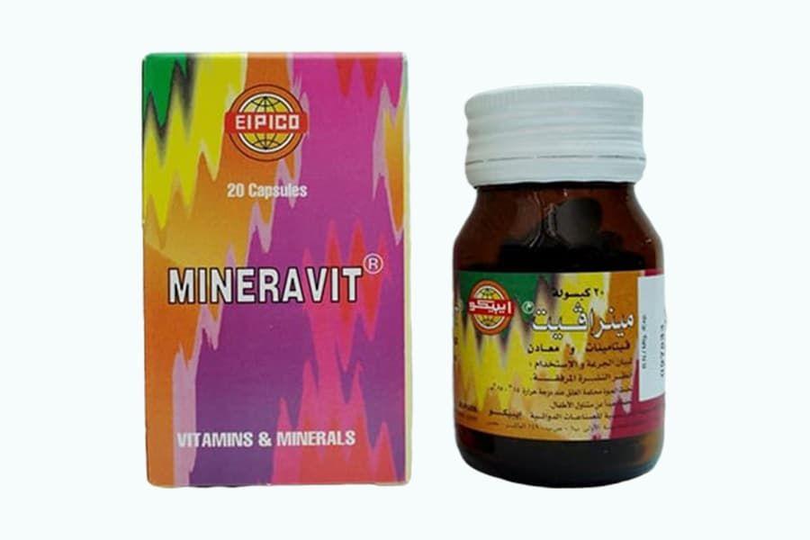 مينرافيت Mineravit Vitamins Vitamins And Minerals Jar