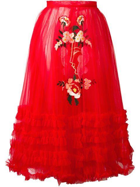 a45698c8d6 VIVETTA embroidered flower skirt. #vivetta #cloth #skirt | Vivetta ...
