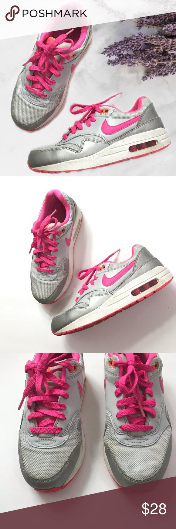 Grey nikes, Pink grey, Nike air max