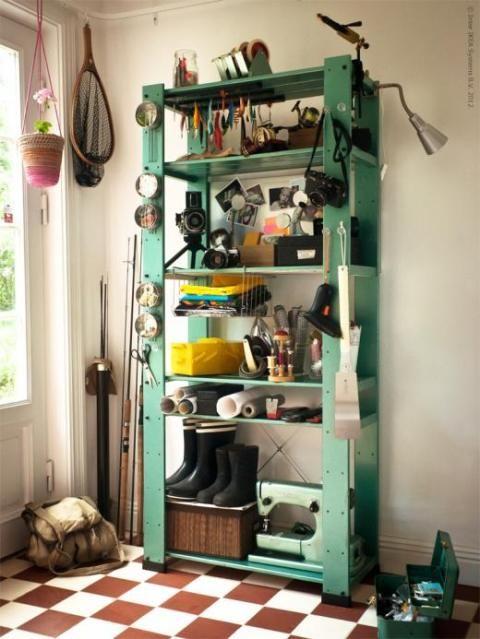 Ikea gorm  IKEA Gorm Shelves color washed | Painted Furniture | Pinterest ...