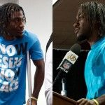 After his injury during Sunday's game, Redskins star quarterback Robert Griffin III was told he could not wear his shirt, which featured a Christian message, while speaking to the press. RGIII decide