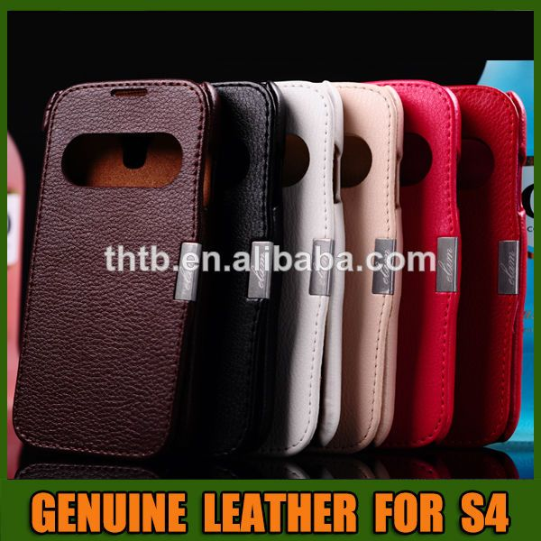 Flip Cover Cell Phone Case For Samsung Galaxy S4 1 Flip Cover Phone Case 2 Genuine Leather 3 Fast Delivery Cell Phone Covers Phone Case Cover Case Cover