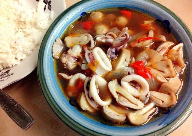 Resep Soup Tomat Jamur Merang Cumi Oleh Palupilupitta Resep Memasak Jamur Resep Masakan