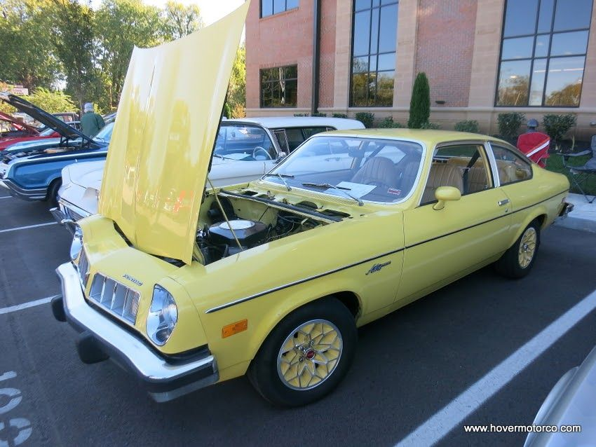 77 Pontiac Astre In Goldenrod Yellow Pontiac Chevrolet Vega