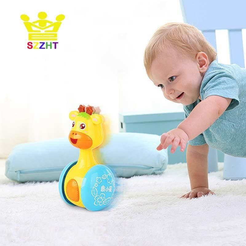 Learning Education Sweet Music Bell Rattles Toys Baby Toys Tumbler Doll Toys