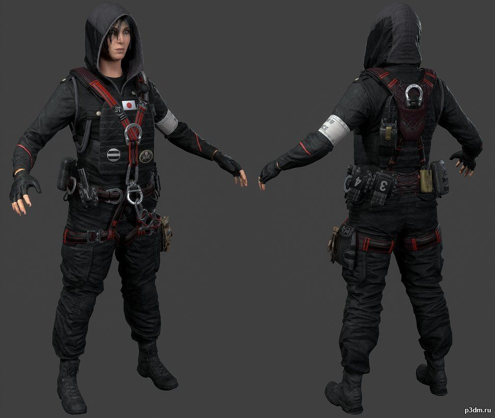 Hibana » Pack 3D models   Character Inspiration in 2019 ...