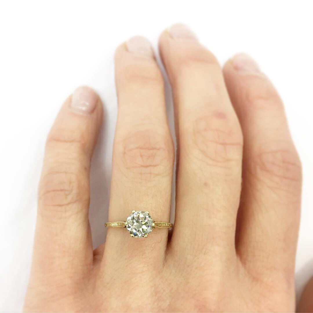 Vintage Diamond Engagement Ring Diamond Engagement Rings Vintage Engagement Rings Diamond Engagement Rings