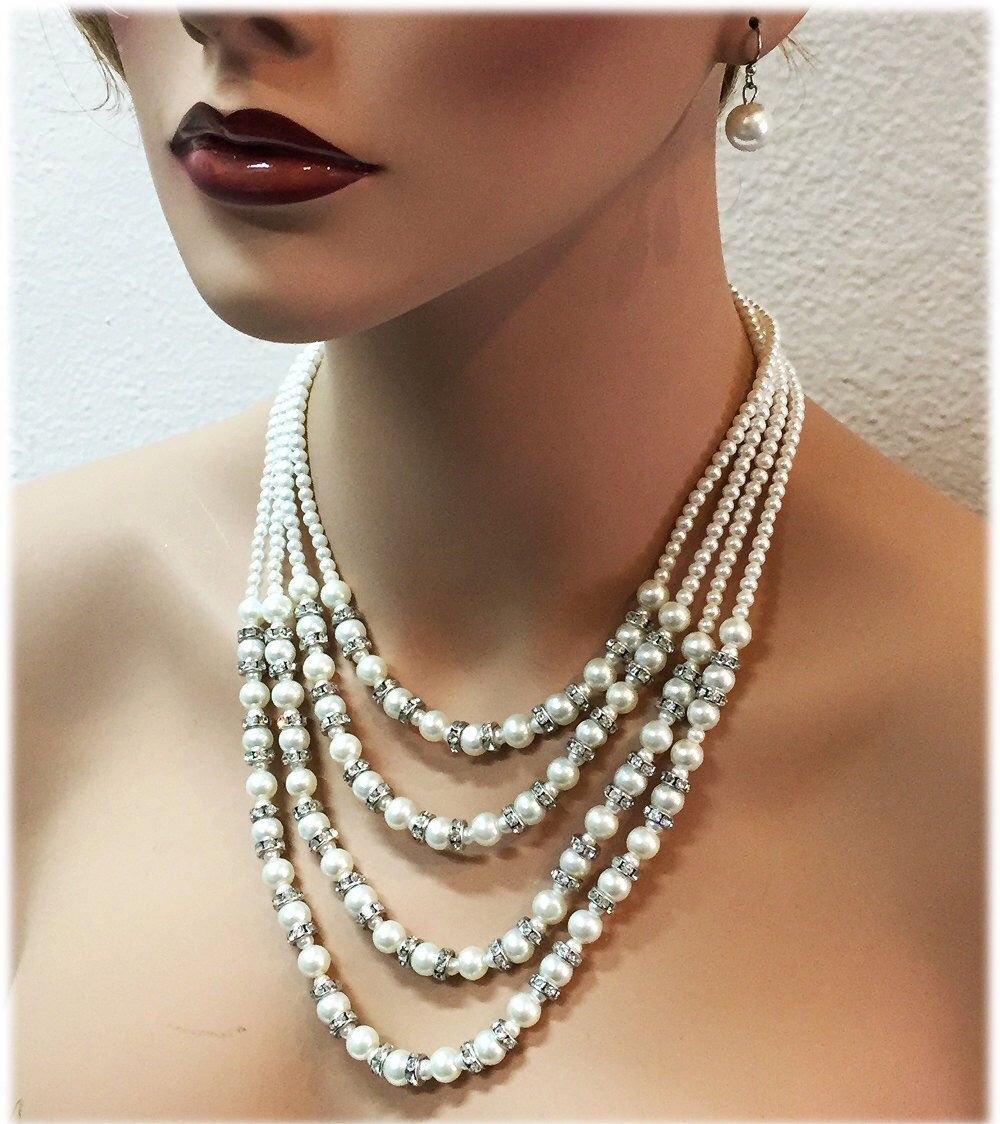 32++ Vintage pearl wedding jewelry sets info