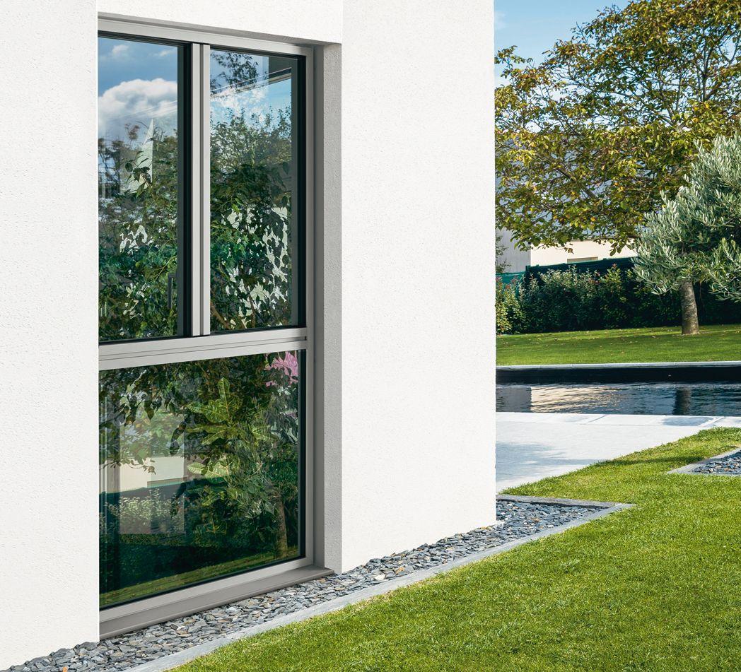 Pin de marina pons en ventanas aluminio en bilbao for Fachadas de casas con ventanas blancas