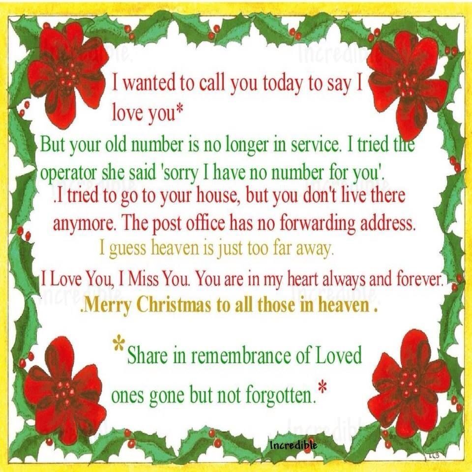 Quotes About Christmas without A Loved One | lovequotesimage.website