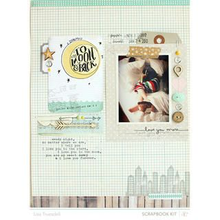 to the moon by gluestickgirl at Studio Calico