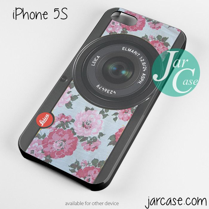 original floral leica camera Phone case for iPhone 4/4s/5/5c/5s/6/6 plus