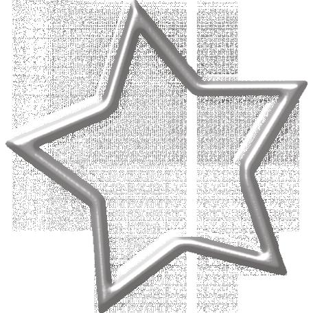 Space Explorer Silver Star Outline Star Outline Silver Stars Silver