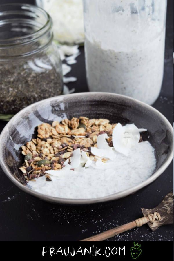 Kokosjoghurt Selber Machen Kokos Joghurt Lebensmittel Essen Laktosefreie Rezepte