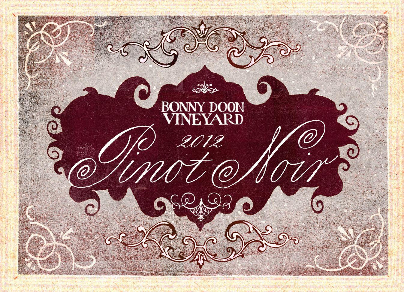 2012 Pinot Noir Spanish Springs Label Art By Grady Mcferrin Bonnydoonvineyard Wine Http Shop Bonnydoonvineyard Com Index Cfm Met Pinot Noir Noir Pinot