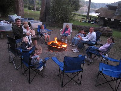 Large Families on Purpose: Large Family Camping (2012) - It's Very Do-Able!