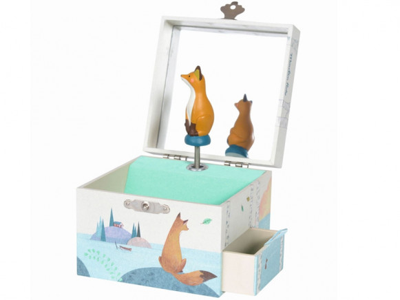 Moulin Roty Schmuckkastchen Mit Spieluhr Fuchs Schmuckkastchen Mit Spieluhr Spieluhr Kasten