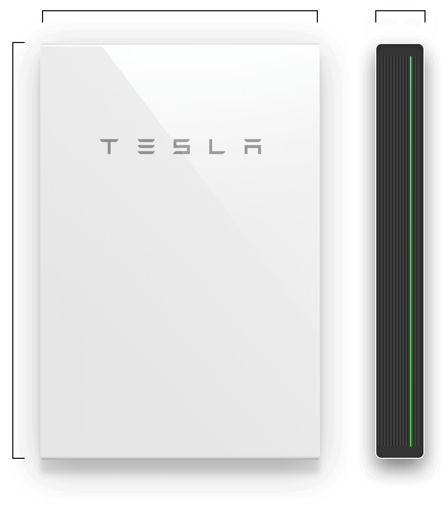 Compact Affordable And Simple To Install Powerwall 2 Charges During The Day And Powers Your Home In The Evening When I Powerwall Tesla Powerwall Solar Panels