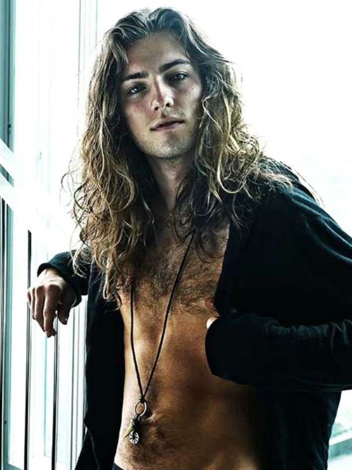 Men Hairstyles For Curly Long Hair 2014 | Long hair styles ...