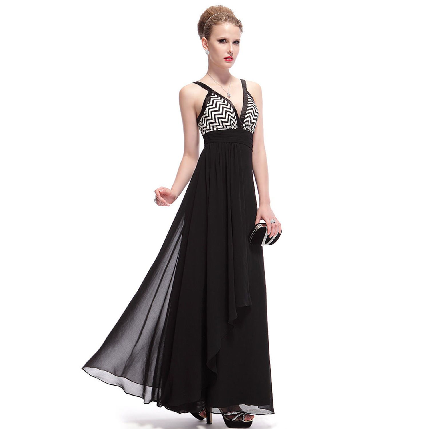 Nice Awesome EverPretty Long Chiffon Evening Dress Formal Cocktail